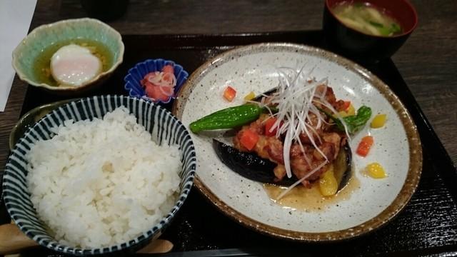 与楽 - 若鶏の唐揚げネギソース