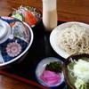 打城 - 料理写真:天丼セット(¥1100税込み)