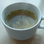 35605734 - パスタランチのスープ