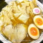 35605782 - ワンタン麺 \940 + 味玉 \100 2015.3