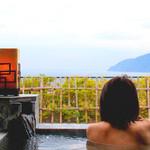 水の里恷 富岳群青 - 到着直後富士山は麓しか見えず・・・