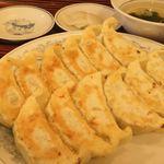 ぎょうざの満洲 - 料理写真:「餃子定食」