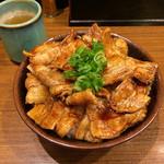豚々亭 - 豚丼(大) 720円