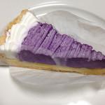 35609820 - 紫いもとサツマイモのタルト(389円)