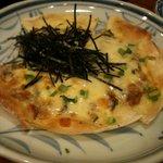 多良 - 納豆ピザ