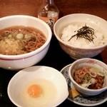 35610036 - 朝食セット(蕎麦)