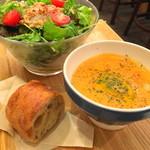 フレンチマーケット - スープ&サラダセット