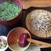 橋立そば処 まる丹 - 料理写真:あさり蕎麦 1,280円