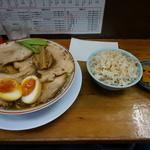 35611584 - 柔らかバラ肉そばランチセット【1,350円】(2015/3/4)