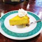 ギャラリー・エフ - かぼちゃのチーズケーキ