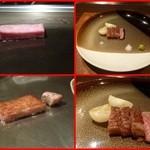 朱藏 - 鹿児島 厳選黒牛のステーキ