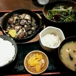 黒木屋宮崎 西都 - ★鶏もも炭火焼定食(日替わり)
