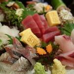 丸冨水産 - 刺し身盛り(大関)