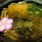 道の駅 みなみ波賀 レストラン楓の里  - 料理写真:きつねうどん