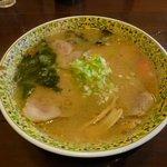 食事処 とんでん龍 - チャーシューメン(味噌)850円