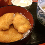 35620831 - タレカツ丼定食  993円