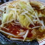くをん - <'15/03/05>辛野菜つけめん(並345g)