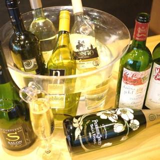 お時間制限ナシの飲み放題☆ワイン・サングリア・カクテル・・・
