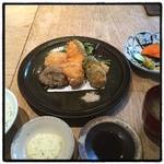 HIGASHI-YAMA Tokyo - 主菜・本日のフリット。 白子うまー。
