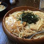 スパゲティーnokishita - たらこと納豆