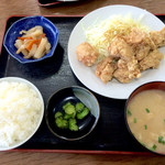 和 - から揚げ定食¥630
