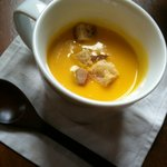 cafe KO-BA - かぼちゃのポタージュスープ