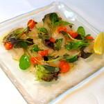 マザー アース カフェ - 本日の鮮魚のカルパッチョ