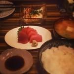 和食ビストロ寛 - 夜の刺身定食