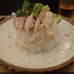 泰式鶏飯食堂 鳥ふじ - 鶏飯(大)