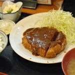 どん平 - とんかつ定食