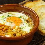 Vamos! - 練りウニと半熟卵のオーブン焼き