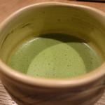 つぼ市製茶本舗 - 抹茶付きにします