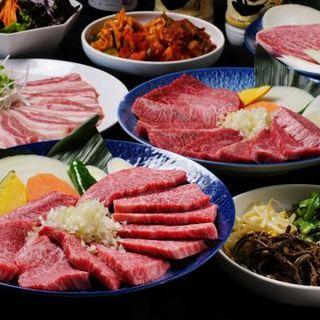 ●3500円コース+500円で豚バラを上タン塩に変更可能!!