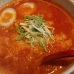 麺屋 天 - トマト麺(あじ玉)