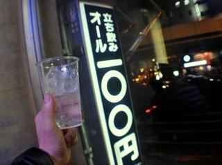 百飲 - アキバの景色を眺めながら軽く一杯