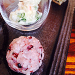 藤香想 - 古代米のおはぎ