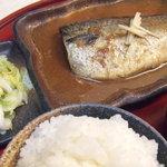 けんばん亭 - さばの味噌煮定食