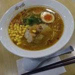 ポッポ - 海老味噌ラーメン529円