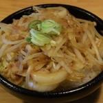 麺屋 ZOE - ミニしょうが丼