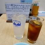 黒門 三よ志 - レモンチューハイ、烏龍茶