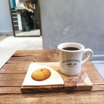 マイティ ステップス コーヒー ストップ - ドリップコーヒー、チョコレートチャンククッキー