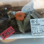 すし丸 - 地物の一品<コチの旨煮>350円(2015.02.24)