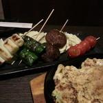 じなり - 山芋鉄板&野菜串