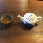 天小屋 - そば茶