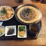 天小屋 - ざる麺セット