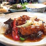 遊食中華 吃飯 - 料理写真:酢豚ランチセット