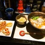 座銀 - ②鶏と海老 時々 煮干しSoba  & 贅沢
