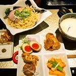 座銀 - ③鶏つけSoba & 贅沢