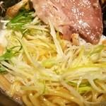 座銀 - ①鶏Soba(ネギ)