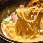 座銀 - ①鶏Soba(麺)